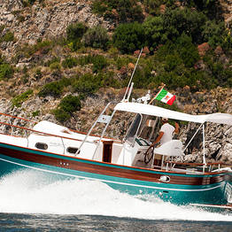 Luxury of the Amalfi Coast by Aprea 32 Gozzo Boat