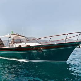 Plaghia Charter - Luxury of the Amalfi Coast by Aprea 32 Gozzo Boat