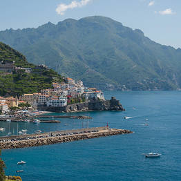 Private transfers between Positano, Amalfi, and Ravello