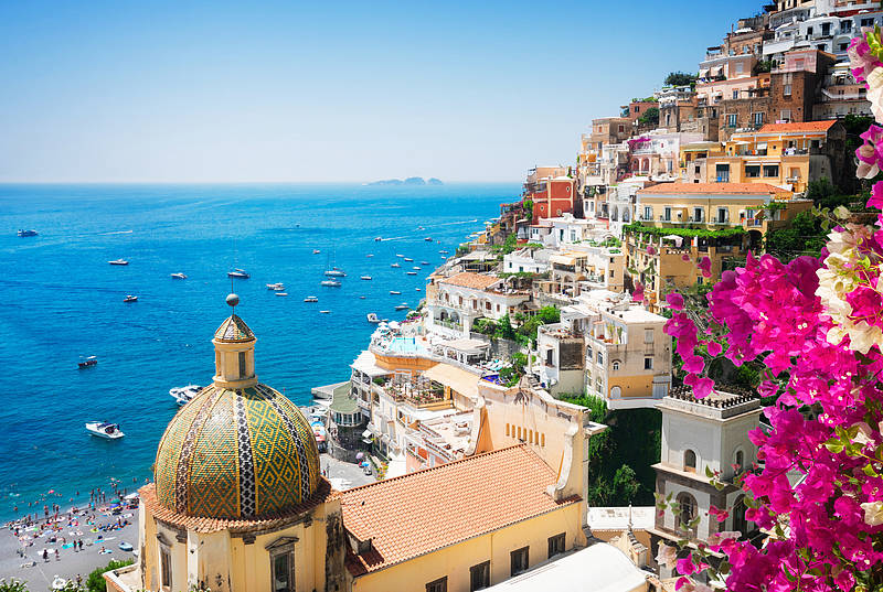 how to go from positano to ravello