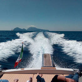 VIP Transfer Sorrento-Capri (car+speedboat+taxi)