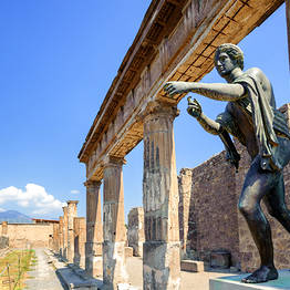 Tour of Pompeii and Herculaneum
