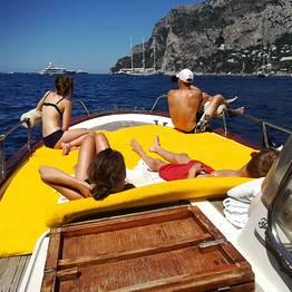 Blue Sea Capri - Full day by Gozzo Boat on the Amalfi Coast