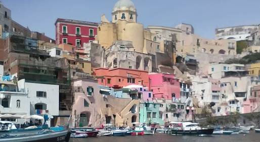 Blue Sea Capri - Full-day Procida & Ischia Boat Tour by Luxury Speedboat