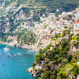 One way transfer from Salerno to Positano or vice versa