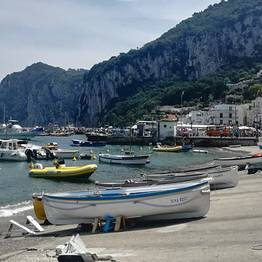 Capri Tour by Private Taxi with Local Guide