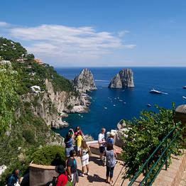 Full-day Tour of Capri from Rome
