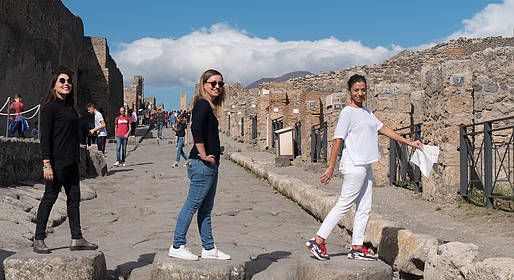 You Know! - Pompeii & Vesuvius: Guided-Tour by Boat from Sorrento