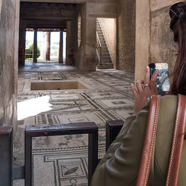 Pompeii and Mt. Vesuvius Tour with Transfer by Boat