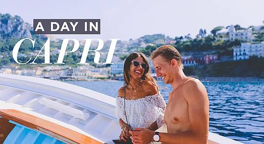Capri Tour Information - Tour of Capri by Boat with a Guide + The Piazzetta
