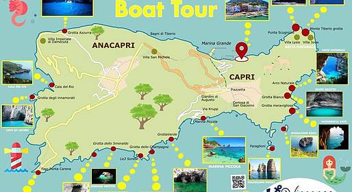 Vincenzo Capri Boats - Speedboat Tour of Capri for an unforgettable day!!!