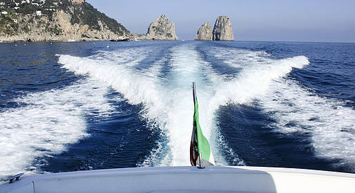 Vincenzo Capri Boats - Speedboat Tour of Capri
