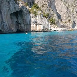 Rubber Dinghy Rental on Capri