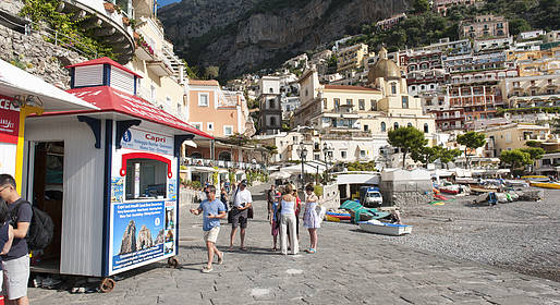 Grassi Junior Boats - Shared Gozzo Boat Capri Tour from Positano