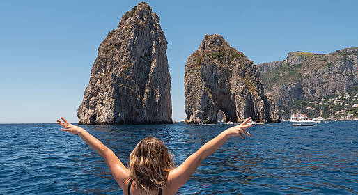 Grassi Junior Boats - Private Capri Boat Tour from Amalfi Coast (Aprea Gozzo)