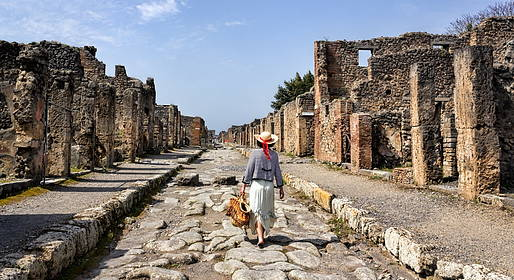 You Know! - Tour of Pompeii and Mt. Vesuvius Departing from Capri