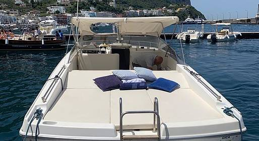 Vincenzo Capri Boats - Capri and Amalfi Coast Tour by Speedboat