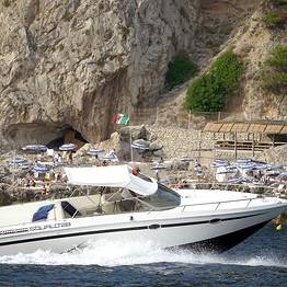 "Vincenzo Capri Boats - Tour in motoscafo ""luxury"" di Capri e Costiera"