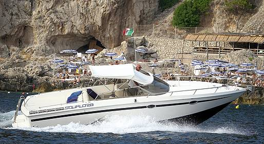 Vincenzo Capri Boats - Sorrento-Capri Speeboat Transfer