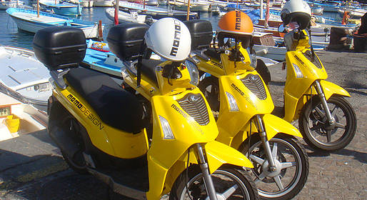 Oasi Motor - 2 hour motorized rubber raft + 5 hour scooter rental