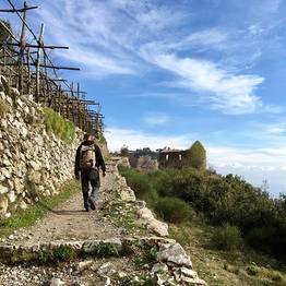 Cartotrekking - rural hike between Amalfi Coast vineyards