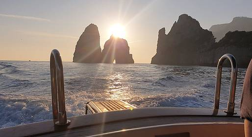 MBS Blu Charter - Capri Blu Tour: Shared Group Boat Tour