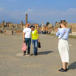 Travel Etc  - Small-group Tour of Pompeii and Vesuvius from Sorrento
