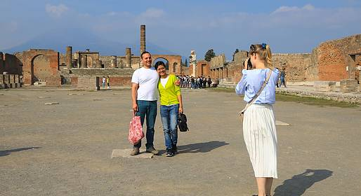 Travel Etc  - Pompeii & Vesuvius Tour from Sorrento, Tickets Included