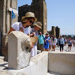 Travel Etc  - Pompeii & Vesuvius Tour from Sorrento, Tickets Included