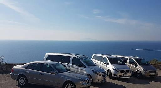 Astarita Car Service - Private Transfer Naples- Praiano with stop Pompeii