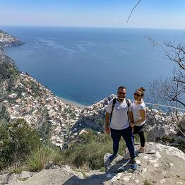 Cartotrekking - Ring Walk on the Slopes of Montepertuso above Positano