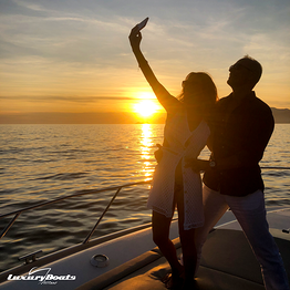 Positano Luxury Boats  - Selfie Sunset Sail - Private Tour