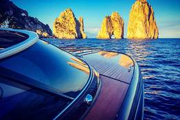 Sunset & Champagne Cruise on the Riva 44