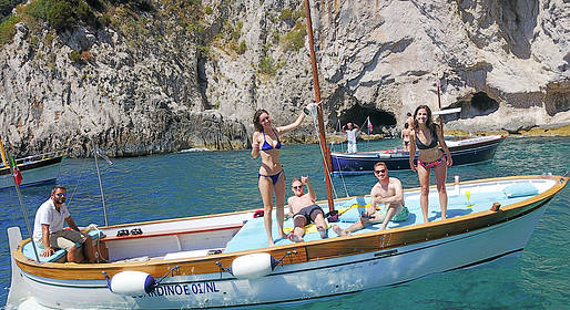 Capri Blue Wave - Capri: Tour of the Island by Boat
