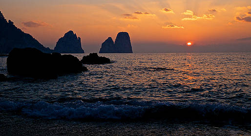 Capri Blue Wave - Sunset Boat Tour with Aperitivo