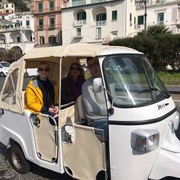 CF Rent - Costiera Amalfitana, tour in Ape Calessino