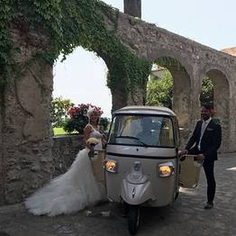 CF Rent - Amalfi Coast Tour via Ape Calessino (Tuk Tuk)