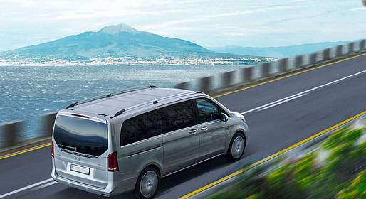 Eurolimo - Private Round -Trip Transfer Naples to the Amalfi Coast