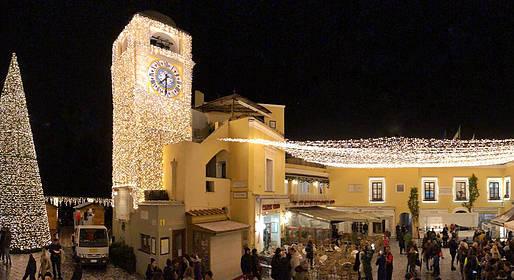 Caprionline - Veglione di Capodanno 2019 in Piazzetta