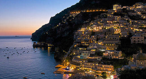Star Cars - Positano by Night: Private Luxury Driving Tour