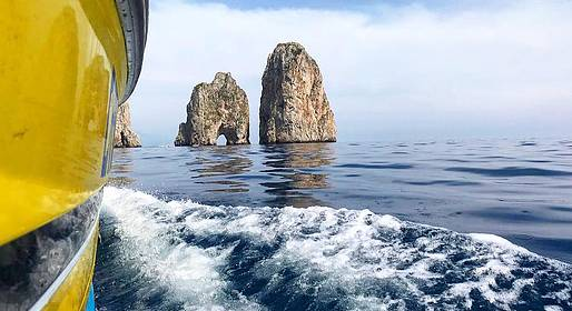 "Capri Whales - Capri Boat Tour with ""Gennarino, The Legend"""
