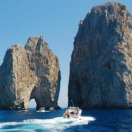 Capri Whales - Small-Group Boat Tour of Capri from Sorrento