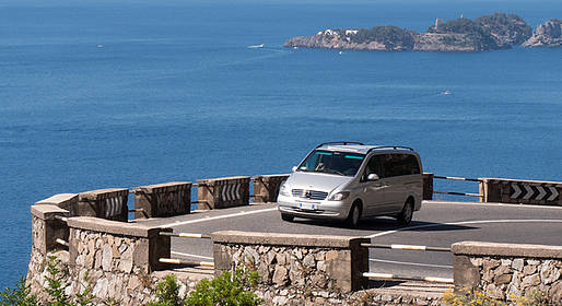 Star Cars - Private Transfer: Rome to Amalfi Coast (or vice versa)