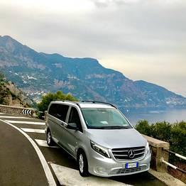 Star Cars - Transfer Rome - Amalfi Coast w/ Pompeii or Herculaneum