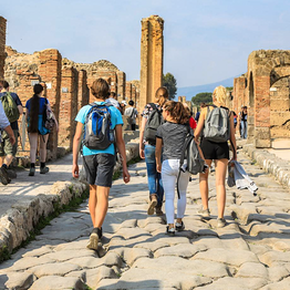HP Travel - Pompeii and Mt. Vesuvius: Guided Tour from Capri