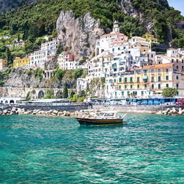 HP Travel - Costiera Amalfitana e Sorrento: tour in barca da Capri