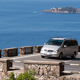 Star Cars - Private Transfer: Naples-Amalfi/Ravello (or vice versa)