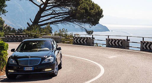 Star Cars - Private Transfer: Rome to Salerno (or vice versa)