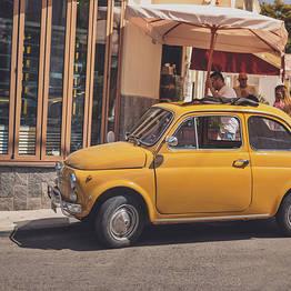 La Giuliva - Foto tour in Fiat 500
