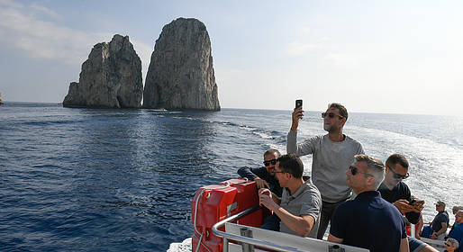 HP Travel - Guided Tour of Capri by Land and Sea
